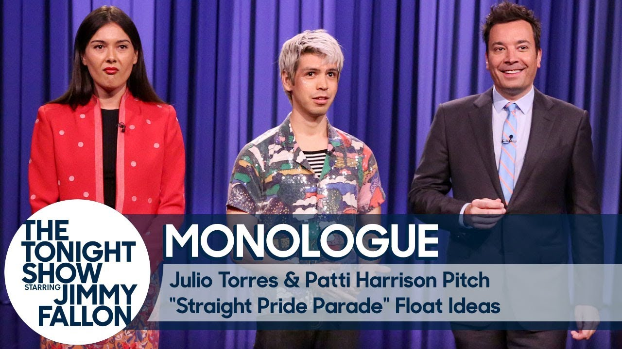 """Julio Torres & Patti Harrison Pitch """"Straight Pride Parade"""" Floats for Pride Month - Mono thumbnail"""