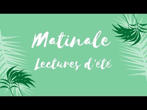 Matinale Lectures d'été 2020 - Sixtine