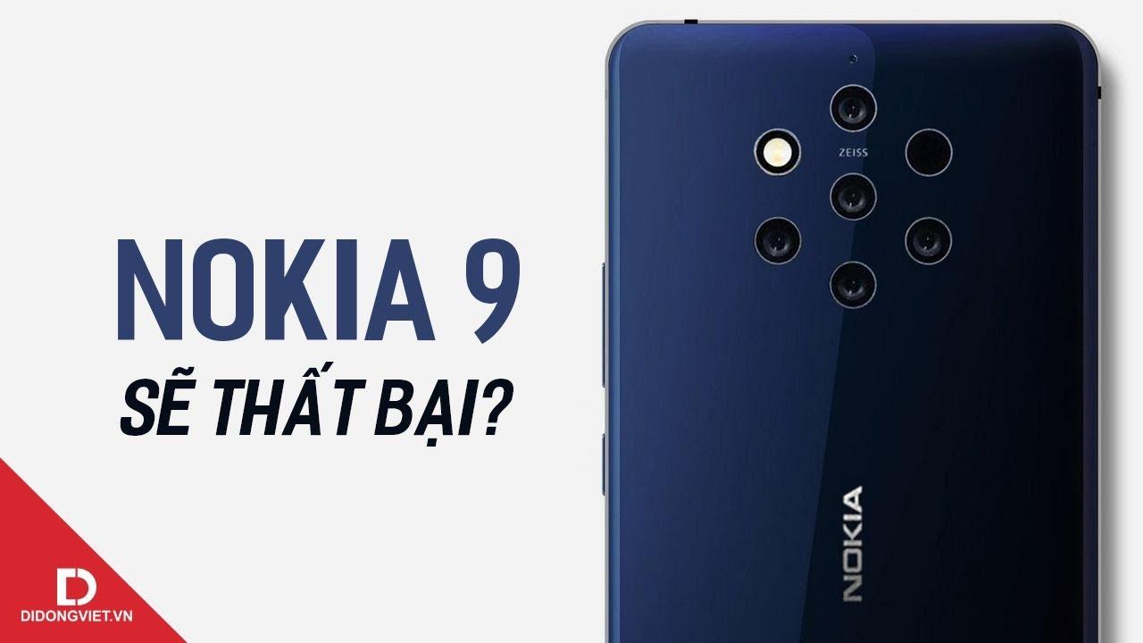 Nokia 9 (có vẻ) sẽ là một sự thất vọng?