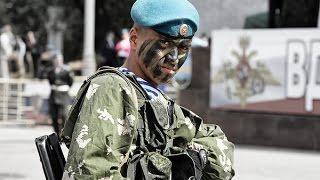 День ВДВ. Показательные выступления. г. Омск 2014г. пос. Светлый