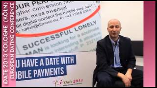preview picture of video 'Jacob Kleinsasser from Dimoco on Mobile Payments for Dating Industry Professionals at iDate 2013'