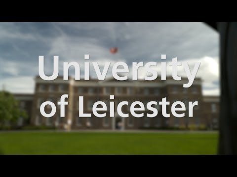 Postgraduate Science at Leicester video