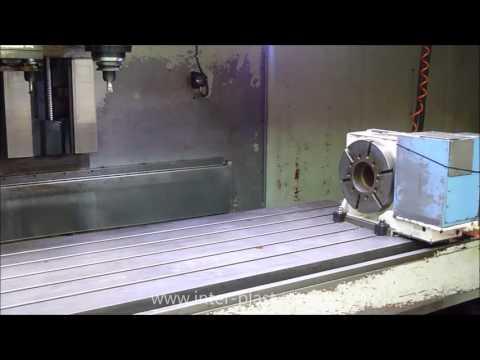 Pionowe centrum obróbcze CNC - CNC Vertical machining center - HARTFORD VMC 3060SG - zdjęcie