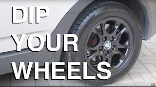 How To PlastiDip Your Wheels (COMPLETE GUIDE)