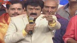 Balakrishna Full Speech Video at Lion Audio Launch