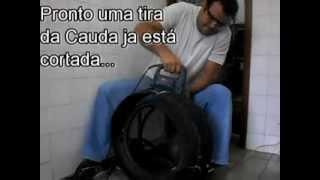 VIDEO TUTORIAL ENSINANDO FAZER O CORTE DOS PNEUS