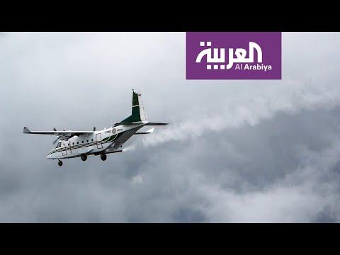العرب اليوم - شاهد: السعودية تبدأ تجارب الاستمطار الصناعي في المنطقة الجنوبية الغربية