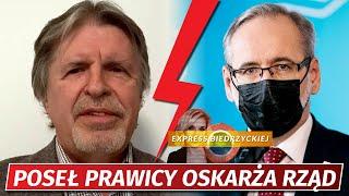 """Sośnierz MIAŻDŻY rząd Morawieckiego! """"Ponosi WINĘ za taką liczbę ZGONÓW"""""""