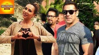 Iulia Vantur Expresses Love For Salman Khan  Bollywood Asia