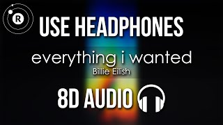 Billie Eilish Everything I Wanted 8d Audio 🎧