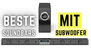 ✅ Soundbar mit Subwoofer Test (deutsch) ► BESTE Soundbar Test 2021