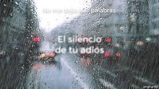 Franco Escamilla - El silencio de tu adiós - Letra.