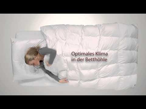 Daunendecke  SCHLAFKÖNIG ® , die Daunendecke für guten Schlaf