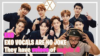 Exo - Vocals Are No Joke, Voices Of Angels **Video Reaction**