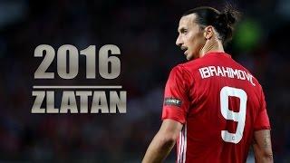 Златан Ибрагимович - Финты и голы за Манчестер Юнайтед 2016/17
