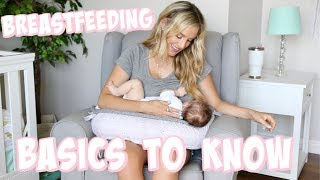BREASTFEEDING 101: LATCHING, POSITIONING, MILK SUPPLY + MORE! | Olivia Zapo