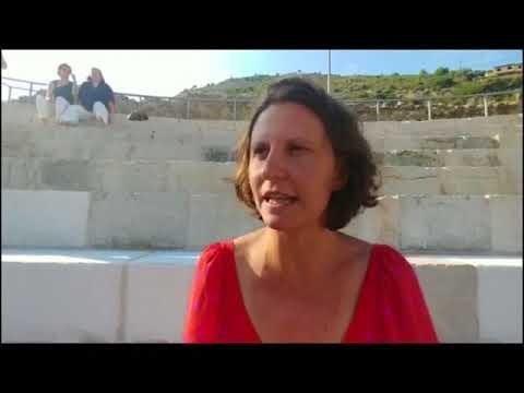 VALENTINA FIORE RACCONTA LA STORIA DEL TEATRO ROMANO DI VENTIMIGLIA
