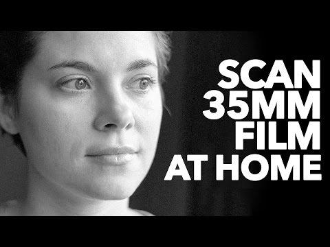 Scanning 35mm Film Negatives at Home. Pakon, Plustek and Epson Scanners.