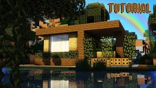 MINECRAFT STARTER HOUSE TUTORIAL! How to Build a Small House in Minecraft ! 2019 MinecraftVideos TV