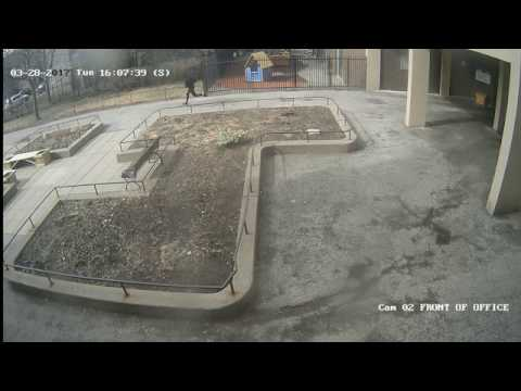 Security video of male wanted in shooting investigation at Augusta Square