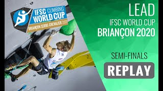 IFSC Climbing World Cup Briançon 2020 - Lead Semi-Finals by International Federation of Sport Climbing