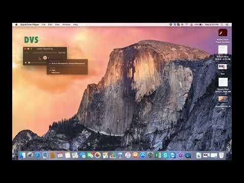 Hướng dẫn cách quay phim màn hình trên máy Macbook sử dụng Quicktime Player