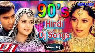 No Voice Tag Hindi Old Nonstop Dj Remix Song Mix By Dj Vikram Raj