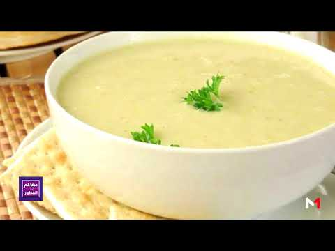 العرب اليوم - شاهد: طريقة إعداد الحساء الأبيض بالشعير