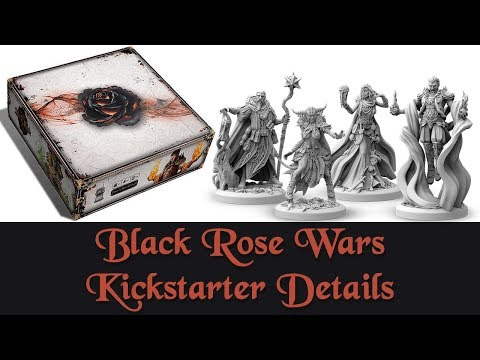 Black Rose Wars Kickstarter Details