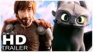 HOW TO TRAIN YOUR DRAGON 3 Trailer Español Latino (2019)