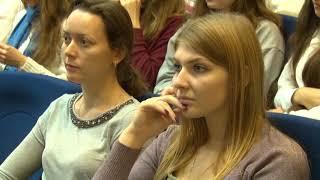 Новостной репортаж телеканала Саратов 24 о конференции с участием Ковалевской Е.В.