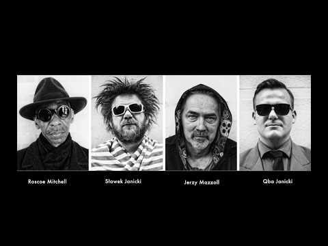 Roscoe Mitchell/Jerzy Mazzoll/Slawek Janicki/Qba Janicki - video concert announcement. online metal music video by ROSCOE MITCHELL