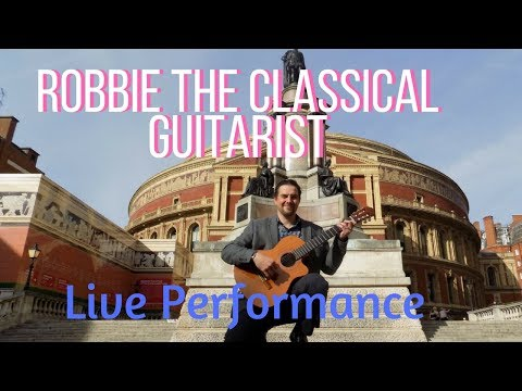 Robbie The Classical Guitarist Video