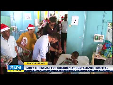 Shaggy and Friends bring Christmas to Bustamante Hospital