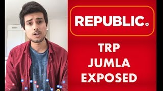 TRP Ratings Jumla of Republic TV Exposed | Facebook Live with Dhruv Rathee
