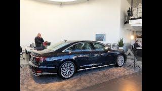 Обзор новый Audi A8 уже в России 2018