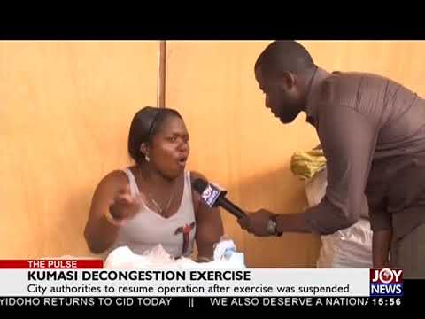 Kumasi Decongestion Exercise- The Pulse on JoyNews (3-4-18)