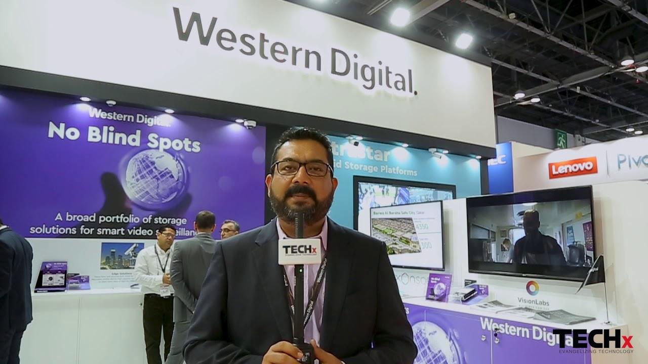 Western Digital @ Intersec 2020