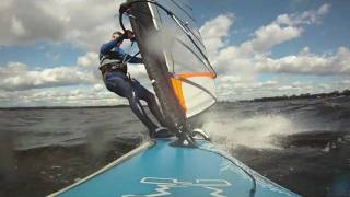 preview picture of video 'Windsurfing on Ottawa River'
