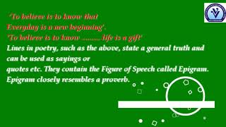 Vijay Vallabh Schools_Grade VIII_English_Figures of Speech