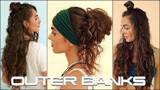 OUTER BANKS Hairstyles | Kiara (Madison Bailey) Summer Hairstyles 2020