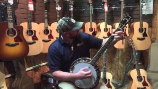 Banjo Picking At C&M Music Center - Hattiesburg MS