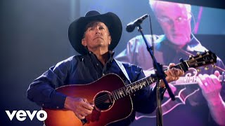 George Strait - Living For The Night (Live @ Reliant Stadium/2009 - Closed Captioned)