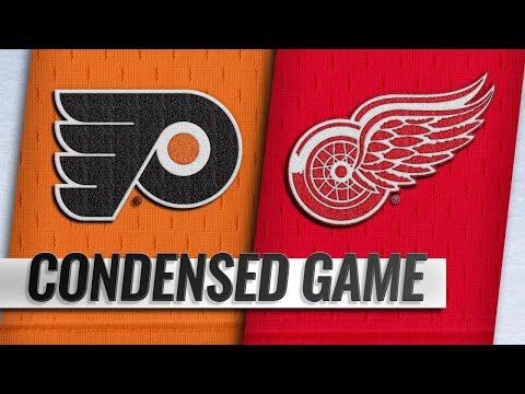 02/17/19 Condensed Game: Flyers @ Red Wings