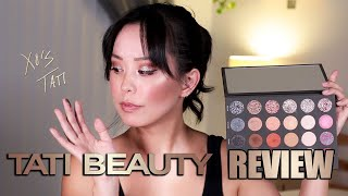 TATI BEAUTY REVIEW swatches & demo