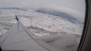 [HD] [GoPro] United Airlines Boeing 737 | Bozeman to Denver | Full flight VLOG #3