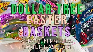 Dollar Tree Haul | Easter Baskets | Easter Gifts On A Budget | Dollar Tree Easter Baskets 2019