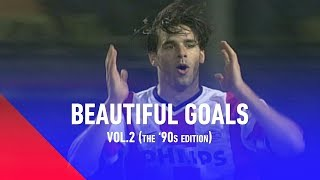 BESTE GOALS IN EREDIVISIE | BEAUTIFUL GOALS VOL #2 | (90's Editie)