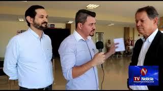 TV Noticía - Ciarama Máquinas e Insumos promoveu Palestra com Dr. Pedro Adachi em Ponta Porã