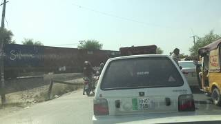 preview picture of video 'Pakistan Railways: NLC Cargo Train Crossing Lodhran City Track No 2'